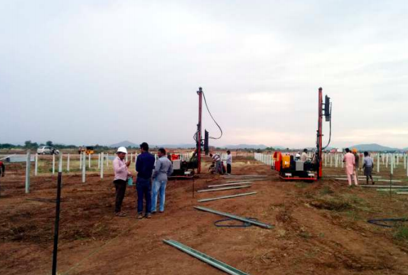 50 MW Tadipatri AP Ramming