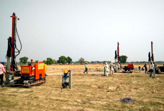 100 MW Bhatinda (Nextracker) Ramming
