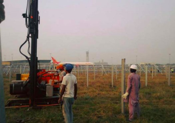 5 MW Delhi Airport T3 Ramming