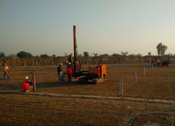 26.5 MW Bareta Punjab Ramming