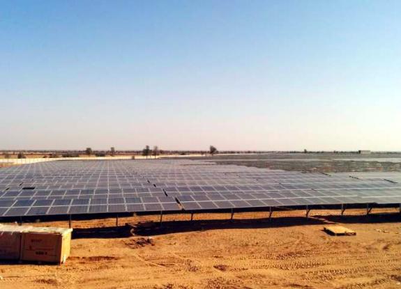 100 MW Bap, Rajasthan Ramming