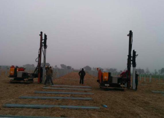 20 MW Mansa Punjab Ramming